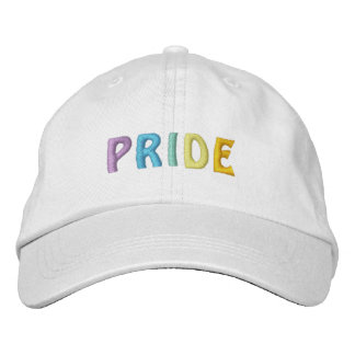 PRIDE cap Embroidered Hat