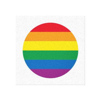 Pride | Colorful Rainbow Design Canvas Print
