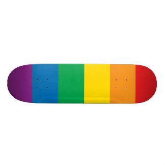 Pride | Colorful Rainbow Design Skateboard Deck