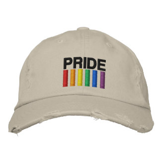 Pride Embroidered Hats