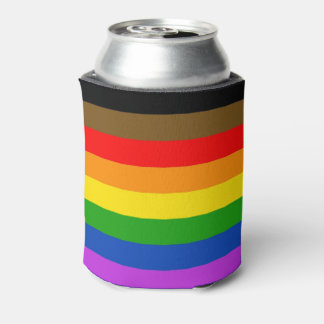 Pride flag can cooler