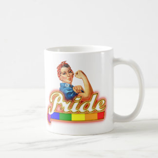 Pride Gay Pride Glowing Pride We Can Do It Coffee Mug