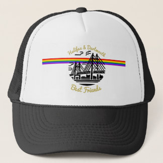 Pride Halifax Dartmouth best  friends  hat