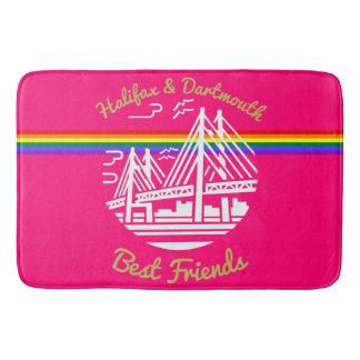 Pride Halifax Dartmouth friends  Bathroom mat
