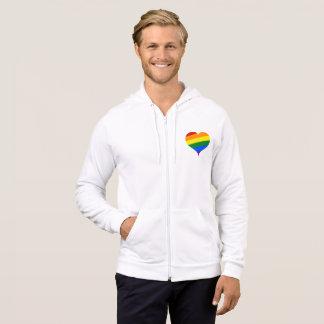 pride heart hoodie