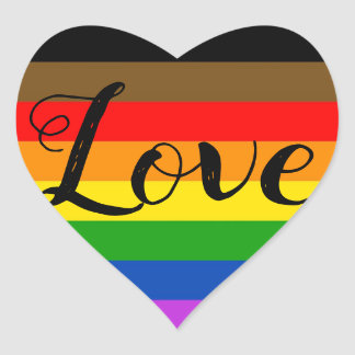 Pride Heart Sticker
