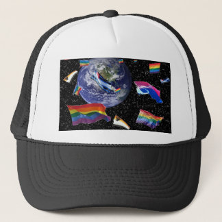 Pride in Space Trucker Hat