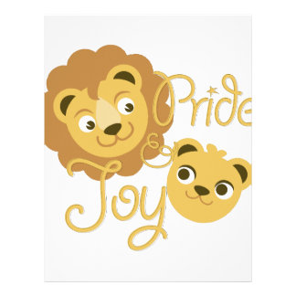 Pride & Joy Letterhead Design