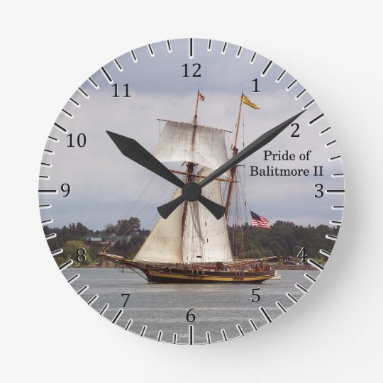 Pride of Baltimore II clock