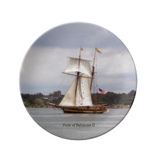 Pride of Baltimore II decorative plate
