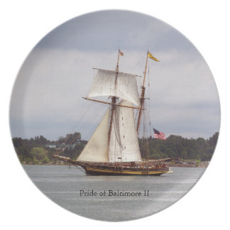 Pride of Baltimore II plate