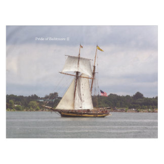 Pride of Baltimore II table cloth