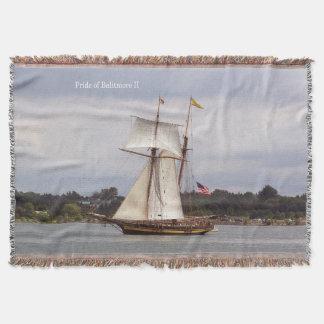 Pride of Baltimore II woven blanket