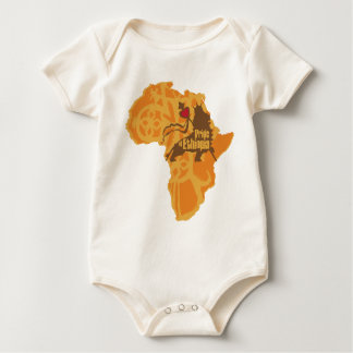 Pride of Ethiopia - Crossing the Continent Baby Bodysuit
