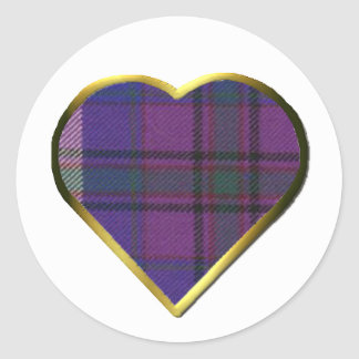 Pride of Scotland Heart Envelope Seal