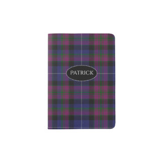 Pride of Scotland Plaid Passport Holder