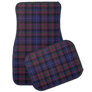 Pride of Scotland Tartan Plaid Car Mat Set