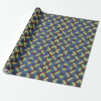 Pride Party -- LGBT Gay Pride Rainbow Flag Pattern Wrapping Paper