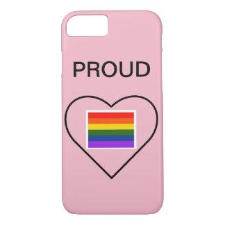 pride phone case 7/8 iphone, lgbt pride, proud