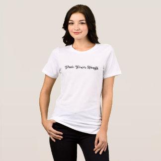 Pride Power Strength Women's T-shirt