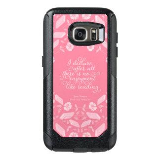 Pride & Prejudice Jane Austen Floral Bookish Quote OtterBox Samsung Galaxy S7 Case