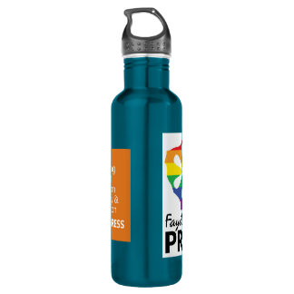 Pride = Progress Water Bottle