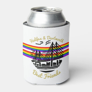 Pride Rainbow Halifax Dartmouth friends can cooler
