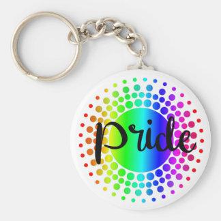 Pride Rainbow Keychain