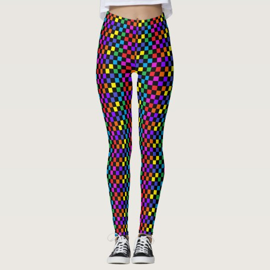 PRIDE Rainbow Leggings Dance Dancers Fun Artsy