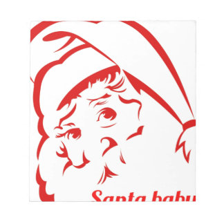 Pride store Santa Baby Notepad