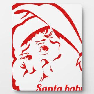 Pride store Santa Baby Plaque