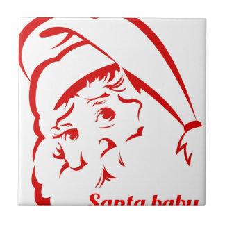 Pride store Santa Baby Tile