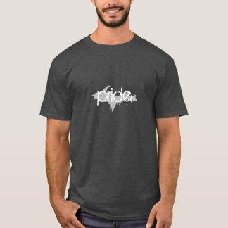 """pride"" Upper Peninsula Michigan Dark Grey t-shirt"