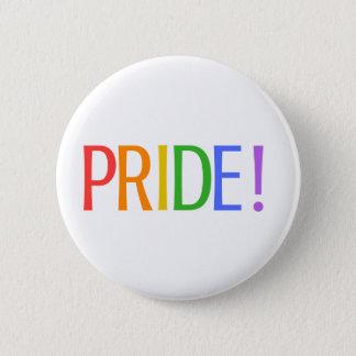 PRIDE! (White) Button