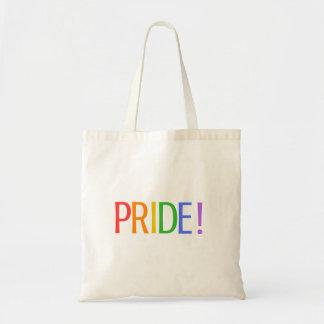 PRIDE! (White) Tote Bag