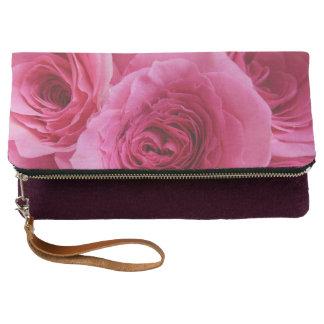 Prideful Pink Rose Clutch