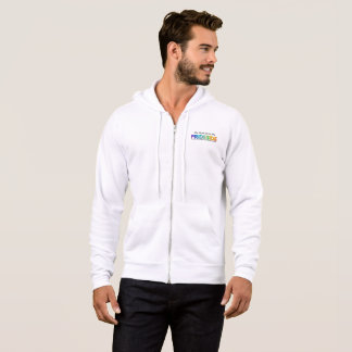 PRIDESIDE® Bella+Canvas Full-Zip Hoodie
