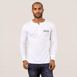 PRIDESIDE® Bella+Canvas Henley Long Sleeve Shirt