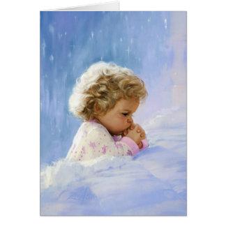 Prière crépusculaire carte de vœux