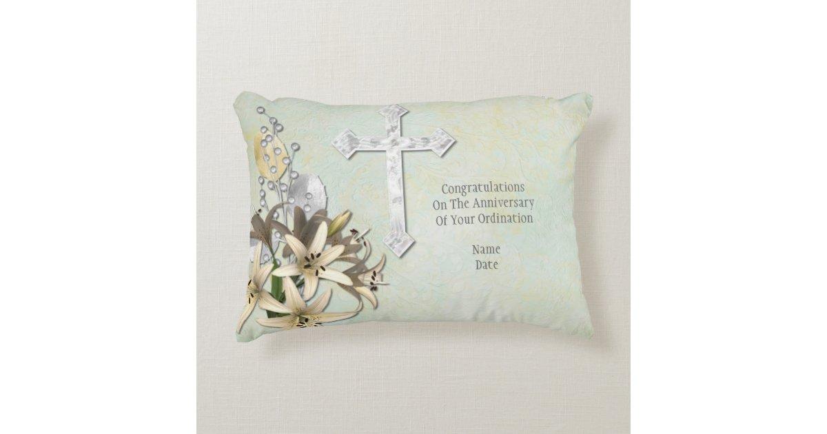 50th Wedding Anniversary Gift Pillows: Priest Anniversary 15th 20th 25th 30th 40th 50th