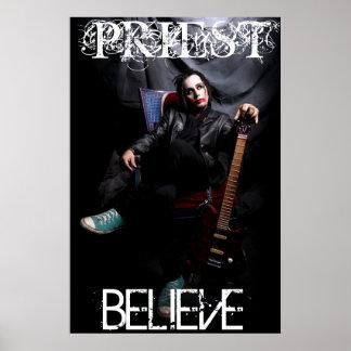 PRIEST BELIEVE Poster