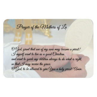 Priest Hands Eucharist Host Rectangular Photo Magnet