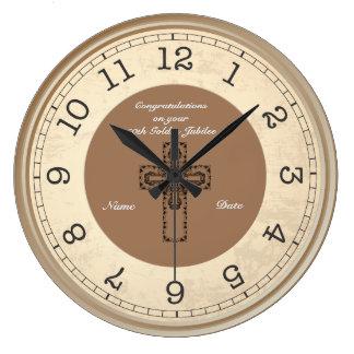 Priest Jubilee 25th 50th Commemorative Clock