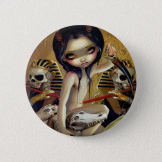 """Priestess of Nyarlathotep"" Button"