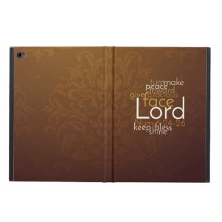 Priestly Blessing on Copper Brown Damask Powis iPad Air 2 Case