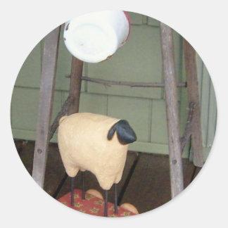 Prim Sheep Stickers