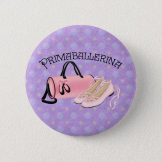 Prima Ballerina 2 Inch Round Button
