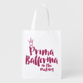 Prima Ballerina In The Making Girls Dance Bag TB03 Market Tote