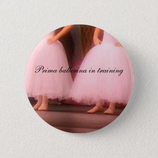 Prima ballerina in training Button