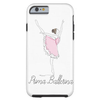 PRIMA BALLERINA  iPHONE 6 BARELY THERE Tough iPhone 6 Case